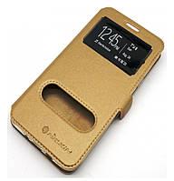 Чехол-книжка Nillkin 2 Window Style для Samsung Galaxy J2 Pime SM-G532 Gold