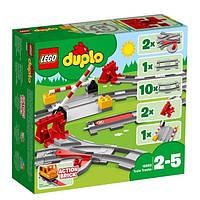 LEGO Duplo Конструктор Рельсы Train Tracks 10882 Building Set
