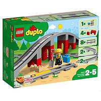 "Lego Duplo Конструктор ""Мост и железнодорожные пути"" 10872 Train Bridge and Tracks"