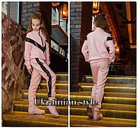 Подростковый теплый спортивный костюм для девочки. Цвета.