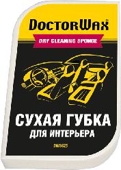 """DoctorWax """"Без проблем"""". Суха губка для очищення приладової панелі, скла, оббивки."""