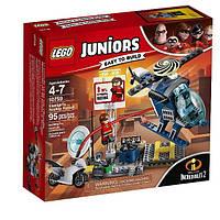 Lego Juniors Еластику Гонитва на даху 10759 Elastigirl's Rooftop Pursuit