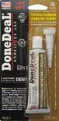Done Deal Термостійкий герметик-формувач прокладок силіконовий, з міддю 42.5 м