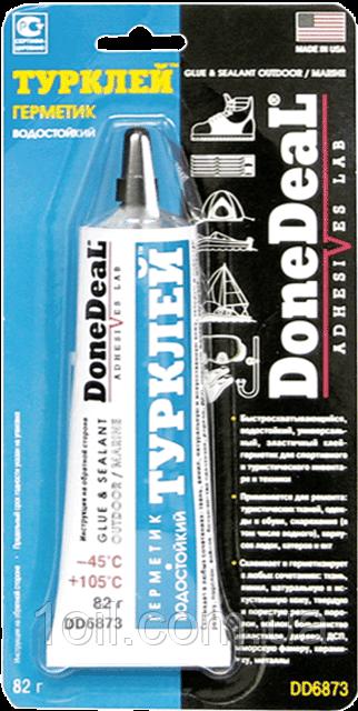 """Done Deal """"Турклей"""", клей-герметик водостойкий   82 г."""