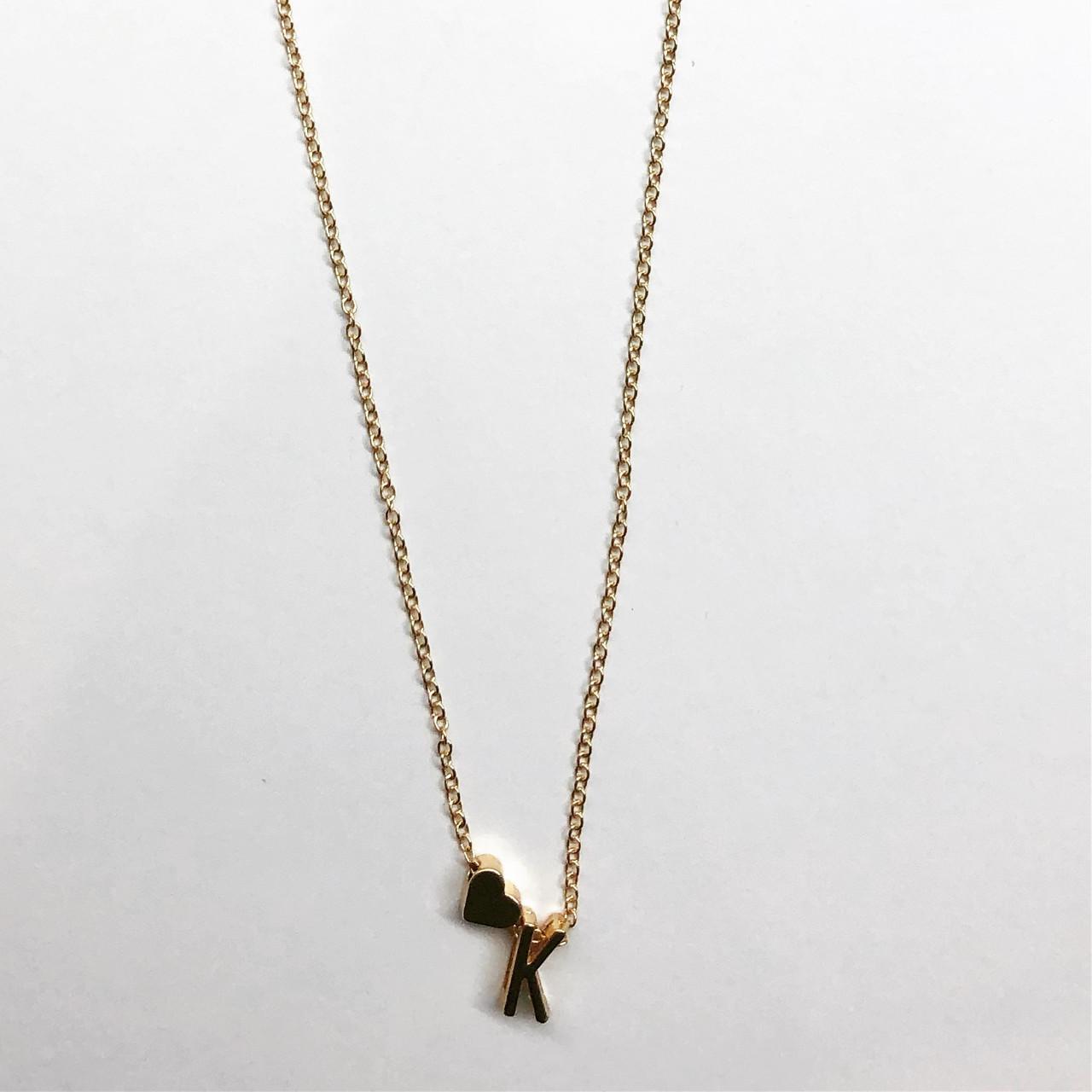 Кулон Turkish Jewels в форме буквы K