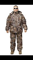 Зимний дышащий костюм, штаны полукомбинезон Лесная чаща  Зимний дышащий костюм, штаны полукомбинезон Лесная ча, фото 1