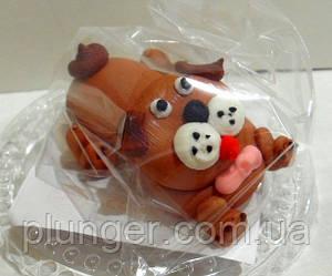 Цукрова прикраса для торта, тістечок Собачка