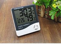 Термогигрометр Generic HTC-1 часы будильник метеостанция