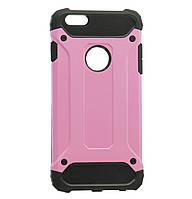 Бронированный противоударный TPU+PC чехол IMMORTAL для IPhone 6 Plus / 6s Plus Pink, фото 1