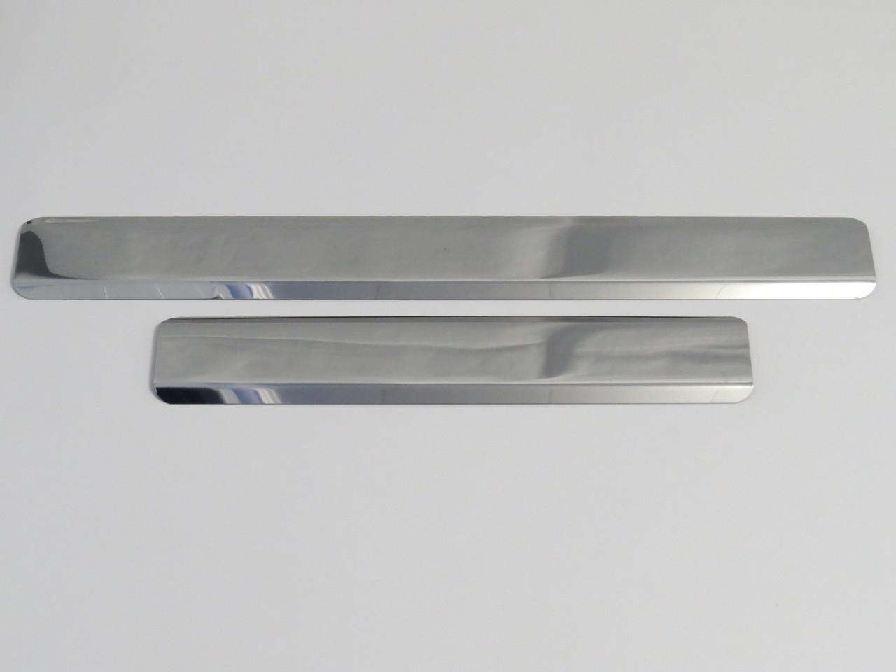 Хромированные накладки на пороги ВАЗ 2110