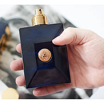 Versace Pour Homme Dylan Blue туалетная вода 100 ml. (Тестер Версаче Пур Хом Дилан Блю), фото 2