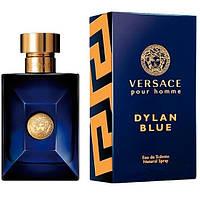 Versace Pour Homme Dylan Blue туалетная вода 100 ml. (Версаче Пур Хом Дилан Блю), фото 1