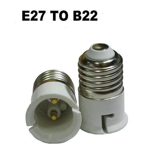 Переходник (адаптер, конвертер, разъем) для патрона с Е27 на В22