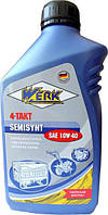 WERK 4-TAKT SEMISYNT SAE10W-40 API SG/CD Масло моторне 1 л