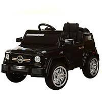 Детский электромобиль Mercedes M 2788 EBLRS-2: 60W, 7 км/ч, 2.4G, EVA, кожа - ЧЕРНЫЙ-купить оптом
