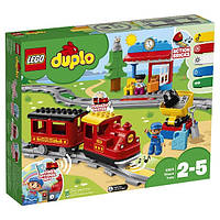 LEGO DUPLO Конструктор Поезд на паровой тяге Trains Steam Train Building Kit