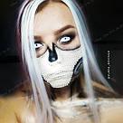 🍦 Цветные пряди искусственных волос белые 🍦, фото 7