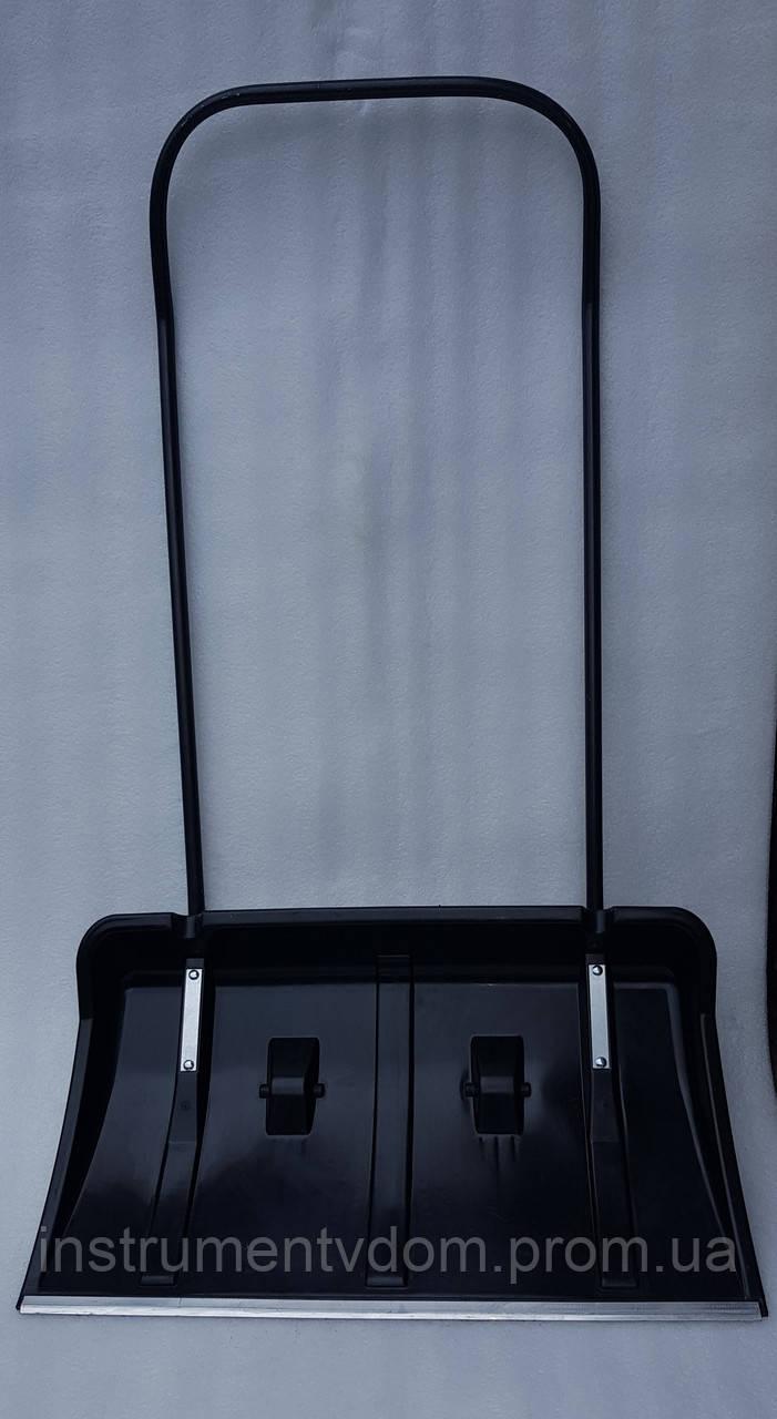Скрепер на колесах для уборки снега TURBO (черный)