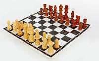 Фигуры шахматные деревянные,  король 9 см, фото 1
