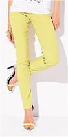 Брюки, штаны женские желтые Zaps 2015 новая коллекция Запс светлые
