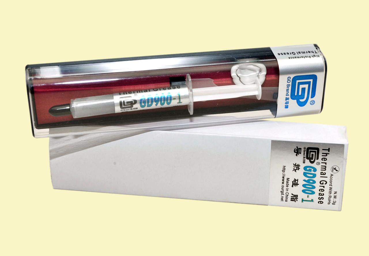 Термопаста GD900-1 3г коробка серая 6 Вт/(м*К) теплопроводящая (TPa-GD900-1-3g-BX)