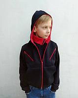Спортивная кофта с капюшоном для мальчика на байке