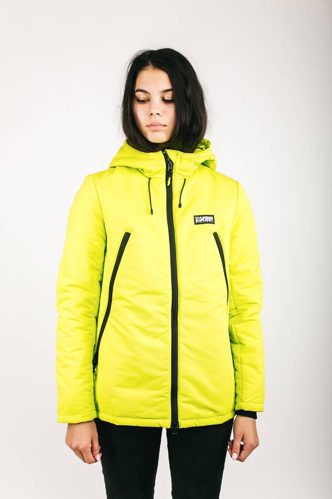 Куртка женская зимняя AW3 SAFETY Urban Planet S 100% полиэстер Салатовый UP 2-1-2-08