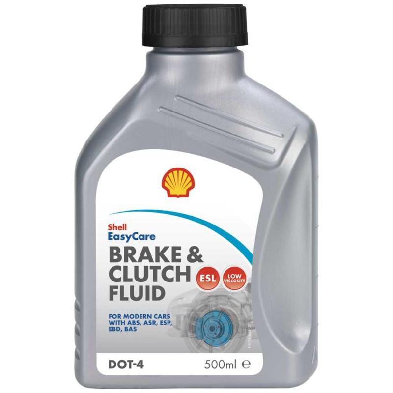 Shell Brake & Clutch fluid DOT4 ESL 0,5л