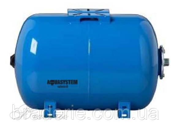 Гидроаккумулятор Aquasystem VAO 50 горизонтальный, фото 2