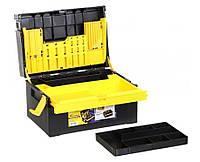 Ящик для инструментов раскладной с органайзером Сталь 1-1601, фото 1