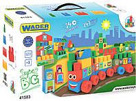 Конструктор Middle Blocks Супер большой (140 элементов), Wader, фото 1