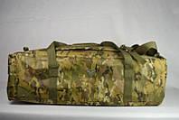 Воєнна дорожня сумка-рюкзак транспортна індивідуальна CARGO на 46 літрів Multicam   Мультикам