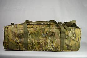 Воєнна дорожня сумка-рюкзак транспортна індивідуальна CARGO на 46 літрів Multicam | Мультикам