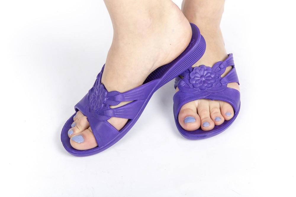 Женские сланцы фиолетовые (Код: ПЖ-10)
