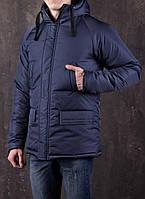 Мужская зимняя куртка Темно-Синяя, фото 1