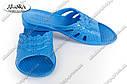 Женские шлепки синие (Код:  ПЖ-11), фото 3