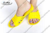 Женские сланцы желтые (Код: ПЖ-11), фото 1