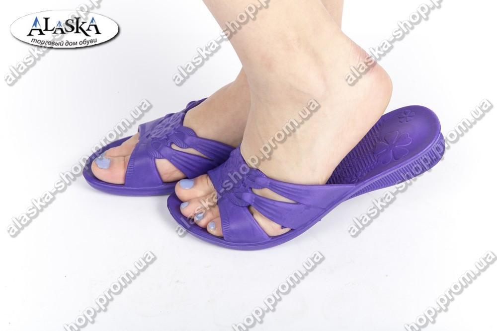 Женские шлепанцы фиолетовые (Код: ПЖ-12)