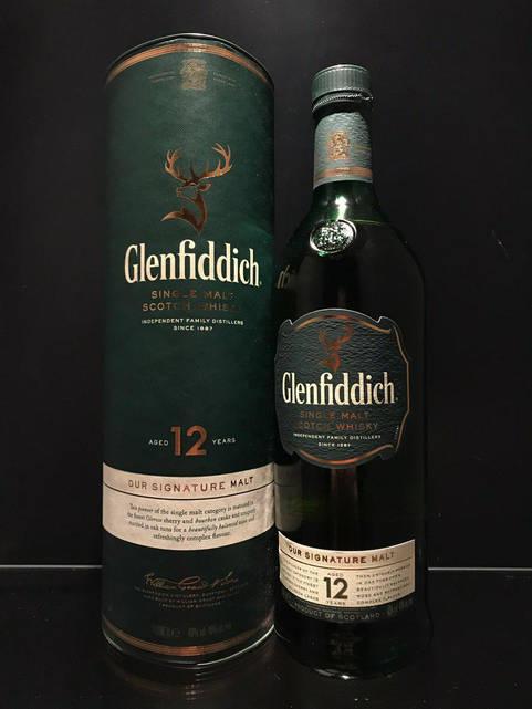 Односолодовый Виски Glenfiddich 12 y.o. Гленфиддик 1л