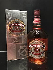 Шотландский виски Chivas Regal 12 y.o. Чивас 12 лет 1л