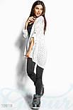 Стильный женский кардиган белого цвета, фото 2