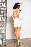 Стильная женская кофта со шнуровкой, фото 3