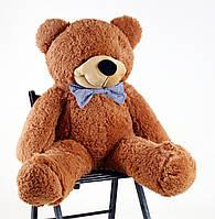 """Огромный  плюшевый медведь """"Шоколадный"""" 100 см"""