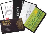 Визитки, карманные календарики