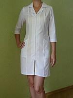 Белый медицинский халат. Опт 170 грн. Розница 220 грн.Ткань батист.