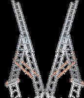 Лестницы трехсекционные 3х7