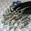Рукав высокого давления РВД S50 (М42 х 2) L-1,9 м ( Н.036.88 (давление-165 МПа) ), фото 2