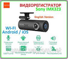 Автомобильный видеорегистратор СЯОМИ с голосовым контролем FullHD WIFI