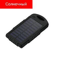 10000 mAh ПАВЕР БАНК, солнечная батарея, фото 1