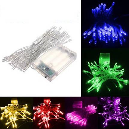4м 40 LED на батарейках Рождество свадьбу строка фея свет - 1TopShop, фото 2